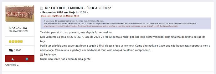 FUTEBOL FEMININO - Época 2021_22 - www.superbraga