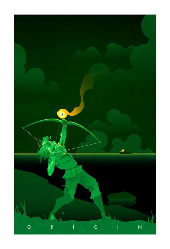 FAN ART_ Superhero Origin Posters Series 2