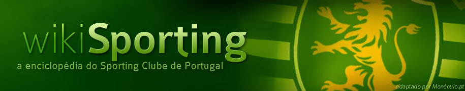 Wiki Sporting - a enciclopédia do Sporting Clube de Portugal